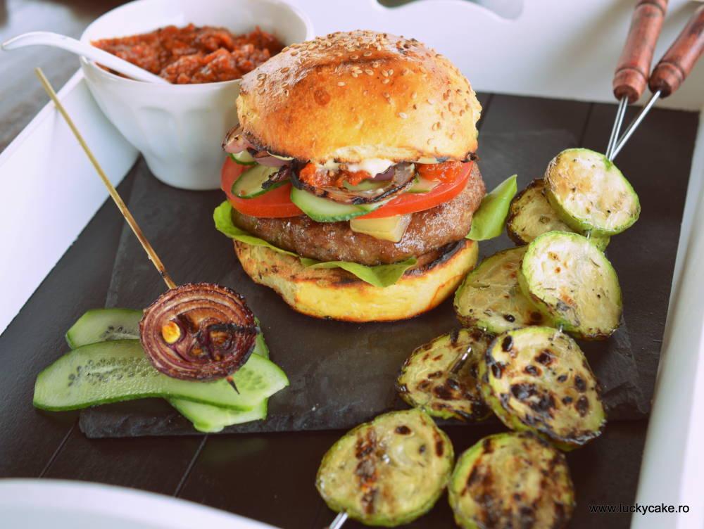 Hamburgeri deliciosi