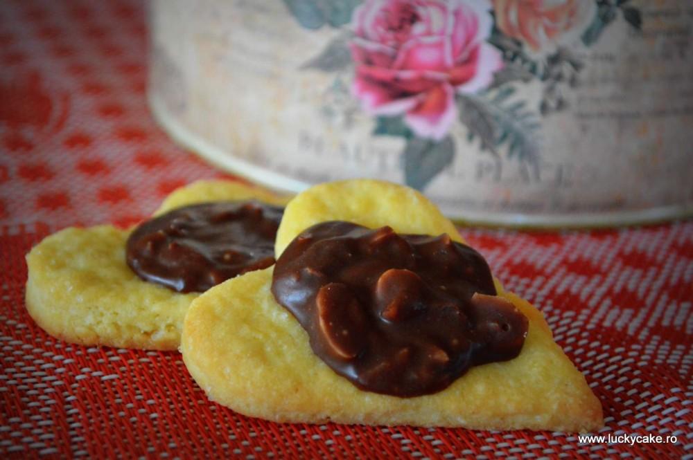 Fursecuri cu migdale si ciocolata