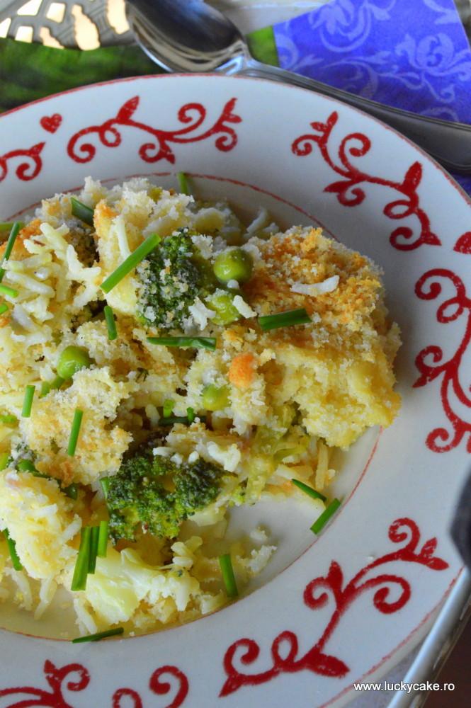 orez cu broccoli si cascaval