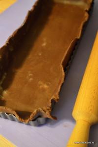 Tarta ciocolata branza