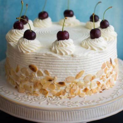 tort malakoff cu visine