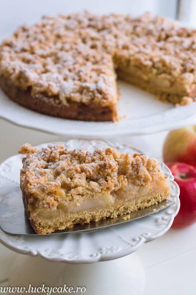 Tarta Crumble cu mere