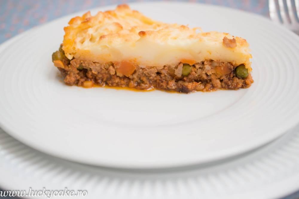 Placinta ciobanului sau Shepherd's Pie