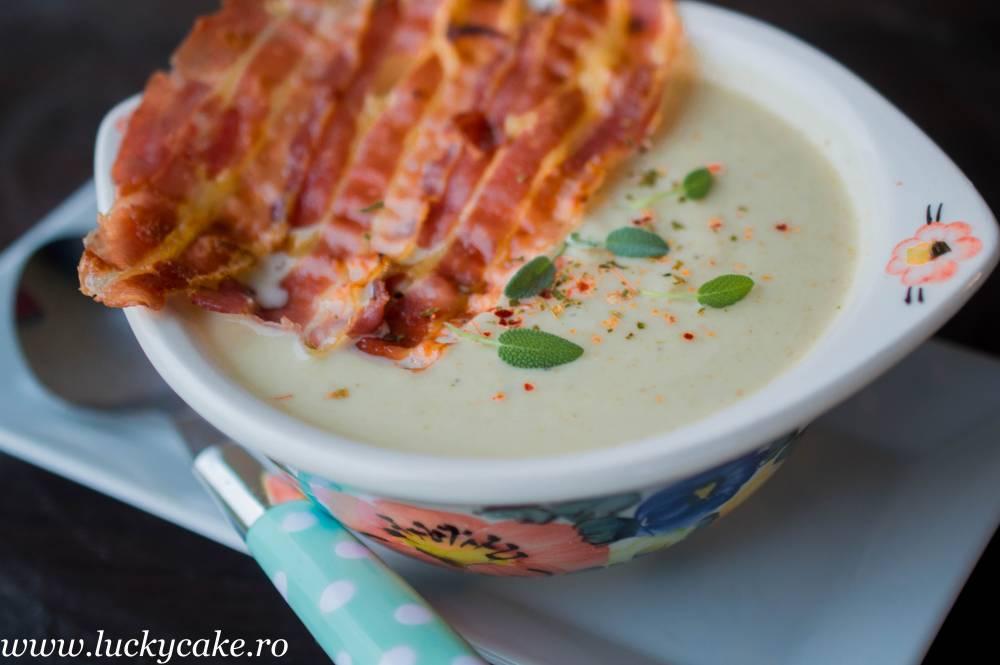 Supa crema de conopida coapta