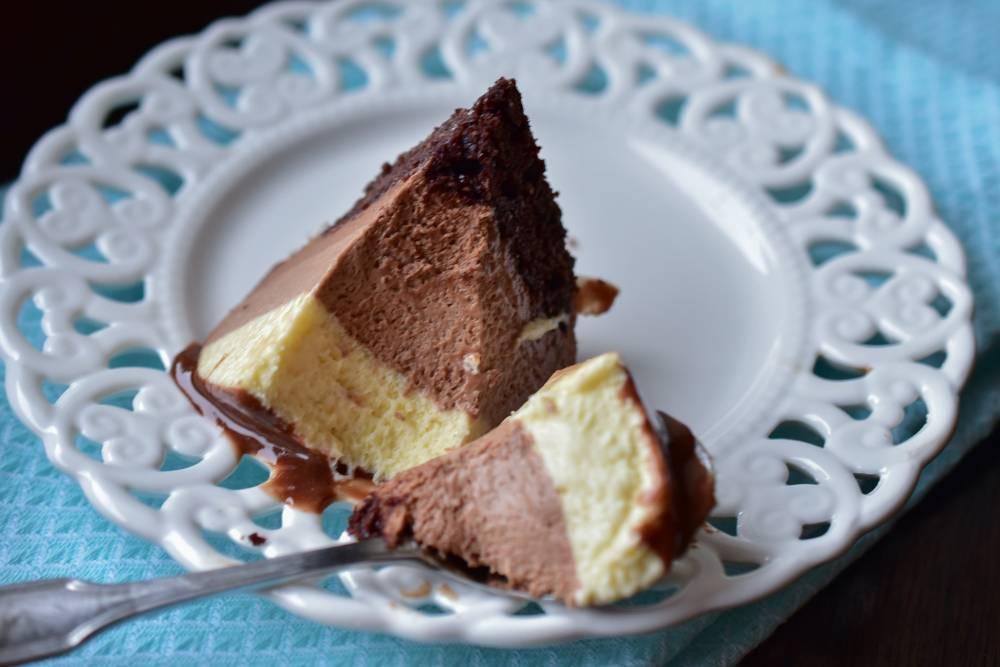 Tort Trio mousse au chocolat